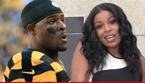 Le'Veon Bell -- Flirts with Jordin Sparks ... After Record-Breaking Performance