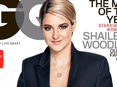 Shailene Woodley Covers GQ, Talks Sex Scenes With Ansel Elgort & Miles Teller!