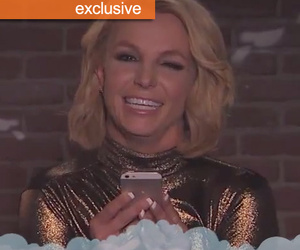 "Britney Spears Called ""Tired Hag"" on Kimmel's Mean Tweets -- Girl Who Tweeted It ""Shocked…"