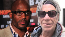 Bernard Hopkins -- I'm Proud of Mickey Rourke ... Fighting Ain't About Age