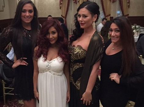 """Jersey Shore"" Reunion at Snooki's Rehearsal Dinner"