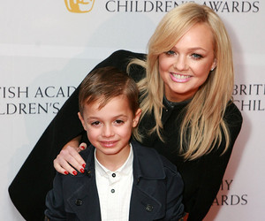 Emma Bunton Hits the Red Carpet With Adorable Son Beau