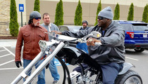Shaq -- I Finally Got My Monster Chopper ... And It's Siiiiick!!!!