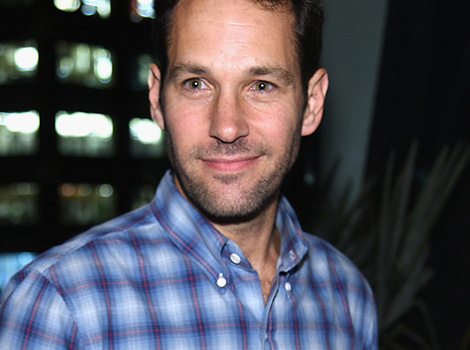 Whoa! Check Out Paul Rudd's Ridiculous College Frat Photo from the '80s