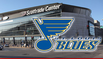 St. Louis Blues -- Heavy Security Presence ... In Wake of Ferguson Clashes