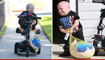 Verne Troyer -- One Helluva Butterball (PHOTO)