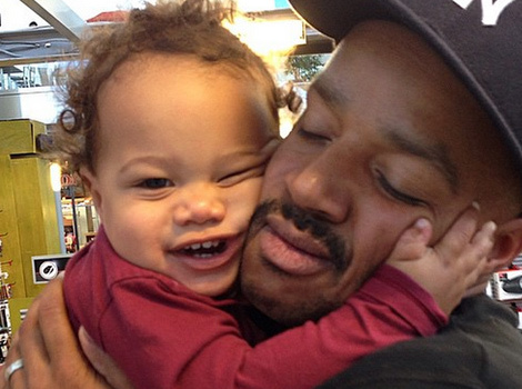 CaCee Cobb Posts Super Sweet Pic With Donald Faison & Son Rocco