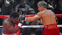 Mickey Rourke's Opponent -- I DIDN'T THROW THE FIGHT ... I Only Trained For a Month