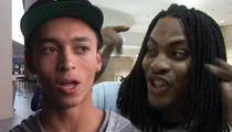 Pro Skater Nyjah Huston -- Waka Flocka Birthday Party Shut Down ... TWICE!