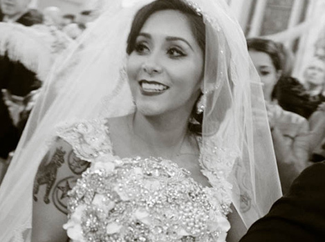 See Snooki's Official Wedding Photos: The Dress, Bridesmaids, Rings & Her Cute Kids!