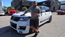 MLB Star Pablo Sandoval -- Drops $200,000 ... On Pimp'd Out Range Rover