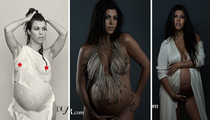 Kourtney Kardashian -- Breaking the Internet Is Tougher When You're Pregnant (PHOTO)