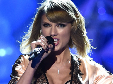 Taylor Swift Stuns In Two Pink & Black Lace Lingerie Looks at Victoria's Secret…