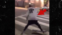 Justin Bieber -- Cops Called Over Skateboarding Ruckus