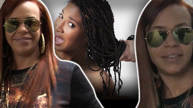 Faith evans hair extension problems just ratchet tmz pmusecretfo Images