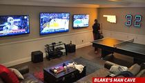 Blake Griffin -- Reveals Man Cave ... Many Questions Arise (PHOTO)
