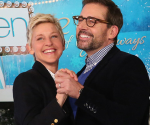 Steve Carell & Ellen DeGeneres Act Out Scenes Together Without Words