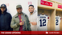 NFL Star Joe Haden -- Help from Josh Gordon, Manziel ... For Sneaker Shop Opening