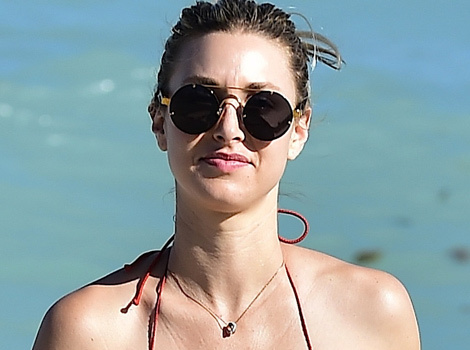 Lookin' Good! Whitney Port Flaunts Super Toned Bikini Bod In Miami