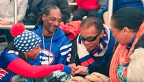 Muhammad Ali -- CHILLIN' WITH SNOOP ... At High School FB Game