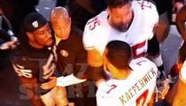 Colin Kaepernick -- Halftime Showdown with Raiders LB ... 'I'm Coming for You' (Video)