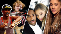Ariana Grande -- Black Ball Love Put on Blast ... Thanks, Ed Sheeran