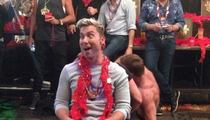 Lance Bass -- Dong Cups and Lap Dances for Bachelor Party