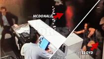 49ers Ray McDonald & Brandon Lloyd -- Broke Up Drunk Hotel Fight