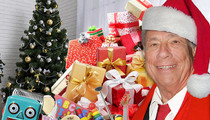 Donald Sterling -- Playing Santa Claus ... IN THA HOOD!!