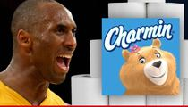 Charmin Toilet Paper -- THANKING KOBE BRYANT ... For T.P. Rant At Lakers Practice