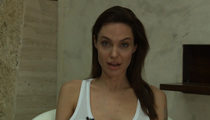 Angelina Jolie -- I've Been Broken by CHICKENPOX!! (VIDEO)