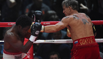 Mickey Rourke's Opponent -- BANNED From Boxing in New Jersey