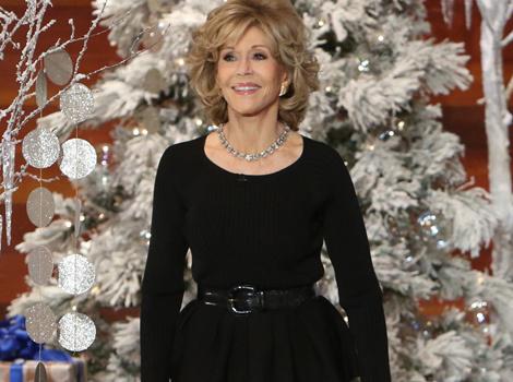 "Portia de Rossi Shows Off Her ""Jane Fonda Workout"" Moves ... For Jane Fonda"