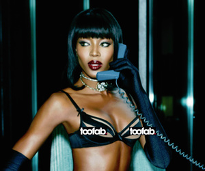 Naomi Campbell, 44, Looks Sexier Than Ever For Agent Provocateur