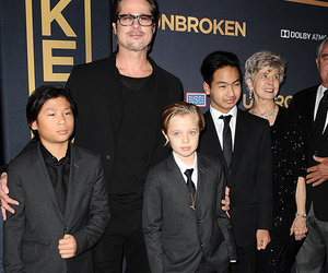 "Brangelina's Kids Make Rare Red Carpet Appearance to Promote ""Unbroken"""