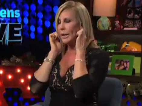 "Vicki Gunvalson Addresses Nude Photo, Talks ""Beautiful"" Boobs"