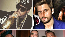 Kardashian Men French, Tyga & Scott Disick ... We Share a Common Interest  (PHOTOS)