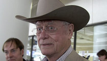 'Dallas' Star Larry Hagman -- R.I.P. ... But Only After You Pay Up