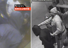 Ray & Janay Rice -- Handcuffed and Making Out After Elevator Fight