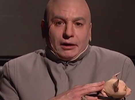 "Dr. Evil & Kristen Wiig Return to ""Saturday Night Live"""