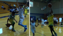 LeBron James Jr. -- BALLIN' OUT ... At 4th Grade Hoops Tourney
