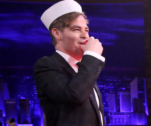 "Chris Pine and Jimmy Fallon Play ""Battleshots"" -- And It's Hilarious!"