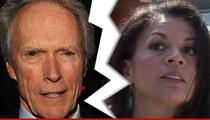 Clint Eastwood -- That's a Wrap ... on 18 Year Marriage