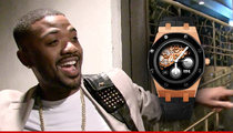 Ray J -- I Got a New Piece ... and it Tells Time