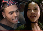 Chris Brown and Karrueche Tran -- Working It Out ... After Nightclub Sweet-Talking Session