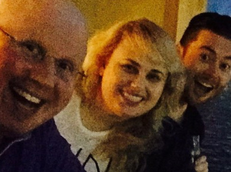 "Rebel Wilson Celebrates NYE With Her ""Bridesmaids"" Brother Down Under"