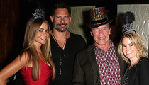 Sofia Vergara, Joe Manganiello & Arnold Schwarzenegger -- Random NYE Date Night ... Dinner and a Britney Spears Concert