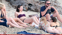 Leonardo DiCaprio -- Booze, Boobs & That Beard ... In Private Island Bash (PHOTOS)