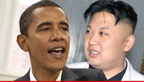 President Obama -- Takes Action Against North Korea ... For Sony Hacking