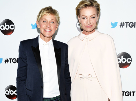 Portia de Rossi Gets Back at Ellen DeGeneres For Sharing Embarrassing Workout…
